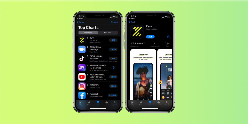 Is Zynn, A Clone Of TikTok, Set To Dominate The Market? Certainly Looks Like So!